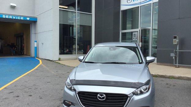 Félicitations Monsieur Bossé pour votre nouvelle Mazda 3 GS 2017