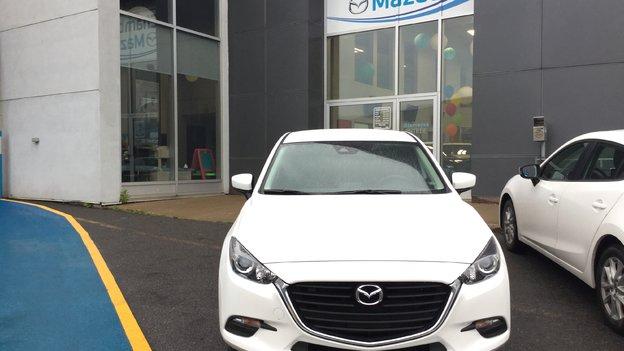 Félicitations Nathalie Choquette pour votre nouvelle Mazda 3 2017