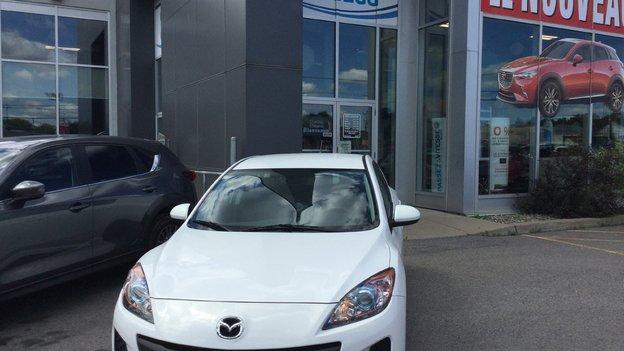 Félicitations Madame Fallecker pour votre nouvelle Mazda 3