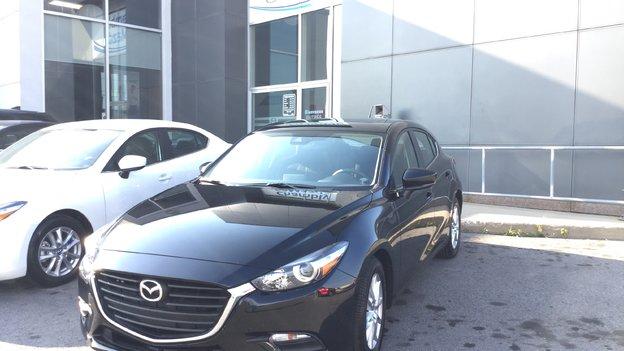 Félicitations M. Poudrette pour votre nouvelle Mazda 3 sport 2017