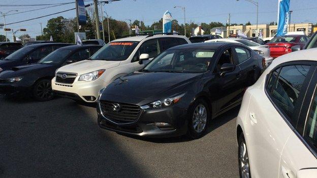 Félicitations Mme Audet pour votre nouvelle Mazda 3. 2017