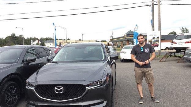 Félicitations Monsieur Chausse pour votre nouvelle Mazda CX5 2017