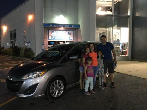 Félicitations Madame Mambroyan pour votre Mazda