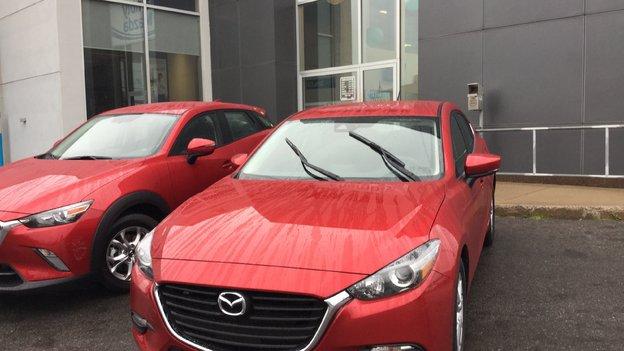 Félicitations Monsieur Viens pour votre nouvelle Mazda 3 2017