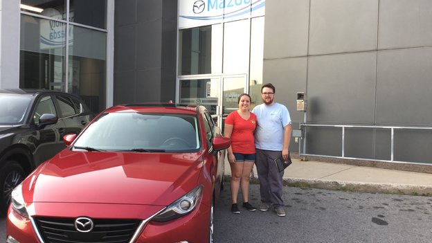 Merci Mme Mesot pour votre confiance envers Chambly Mazda