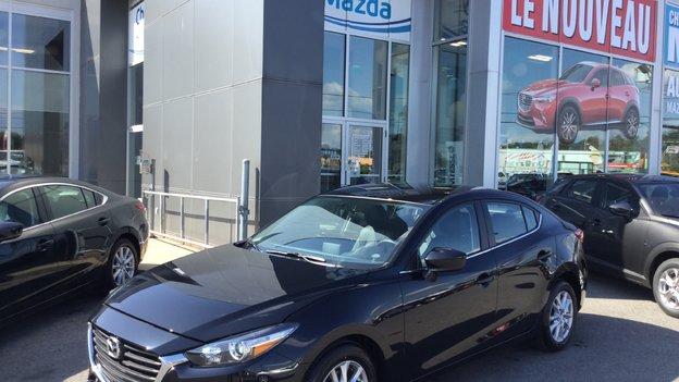 Félicitations Monsieur Paquet pour votre nouvelle Mazda 3 2017