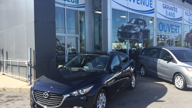 Congratulations Ms. Taisha Bernard Mercier on Your New 2018 Mazda 3