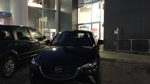 Congratulations Ms. Bianks Béland on Your New 2018 CX3