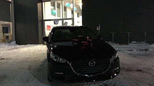 Félicitations à Chanelle Leduc pour votre nouvelle Mazda3 2018