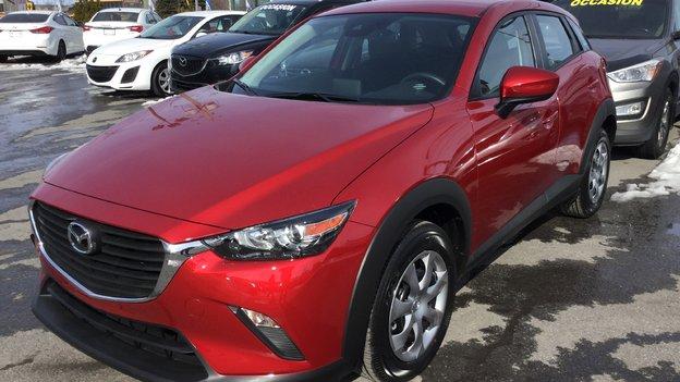 Félicitations Madame Leclerc pour votre nouvelle Mazda CX3 2018