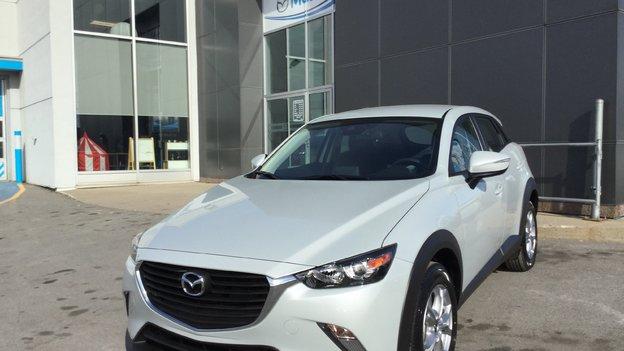 Félicitations Madame Ostiguy pour votre nouvelle Mazda CX3 2918