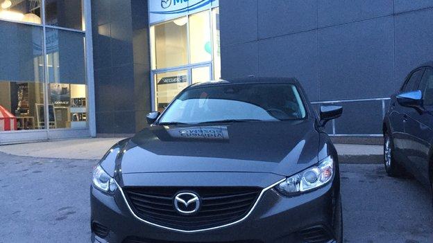 Félicitations Madame Vermette pour votre nouvelle Mazda 6