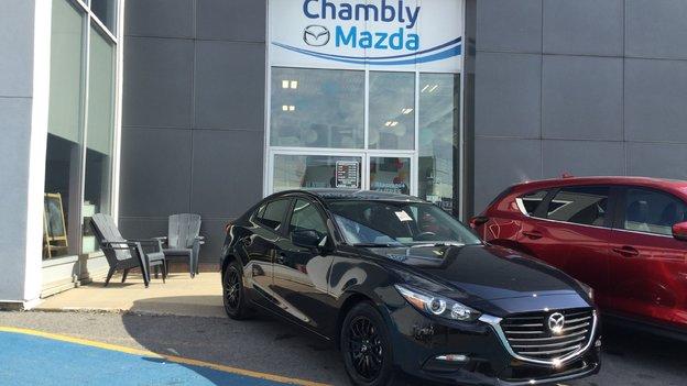 Félicitations à Marie Eve Tougeon pour sa nouvelle Mazda 3 2018