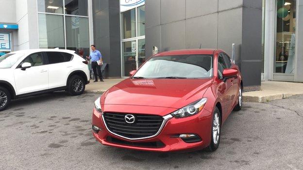 Félicitations à Madame Robert pour sa nouvelle Mazda 3 2018
