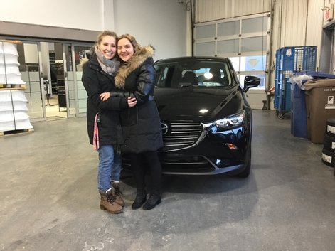 Congratulations to Virginie for her new 2019 Mazda CX-3 GS