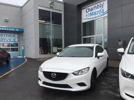 Félicitations à Monsieur Marceau pour sa nouvelle Mazda 6