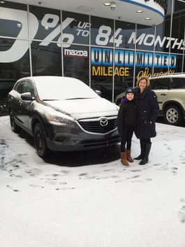 Kelly's New CX9