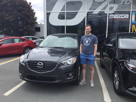 2016 CX-5 for Andrew's Parents