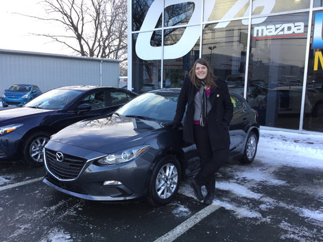 Love my new Mazda 3!!