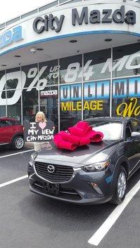 I <3 my new City Mazda!