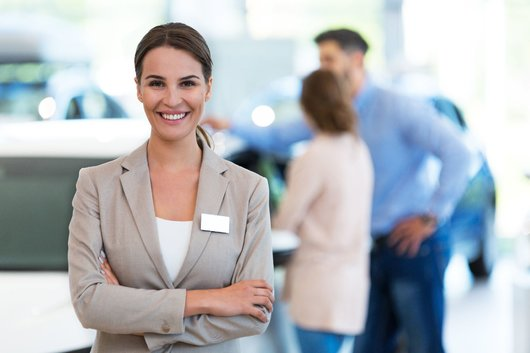 Sales and Service Receptionist