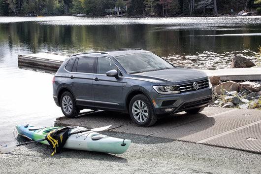 Three things you get in the 2019 Volkswagen Tiguan Trendline