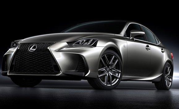 Lexus IS 2017 : le plaisir en toutes circonstances