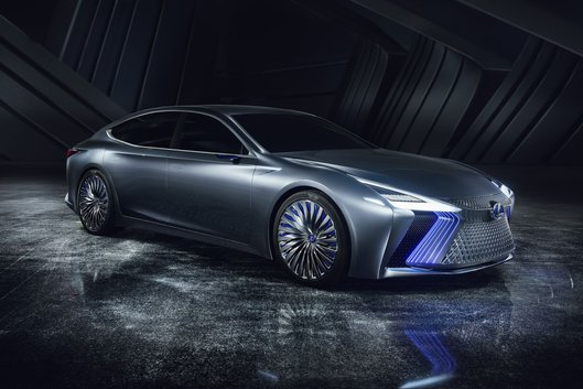 Lexus LS + Concept unveiled as a world premiere in Tokyo