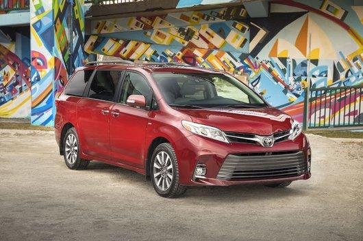 Toyota Sienna 2018 vs Honda Odyssey vs Dodge Grand Caravan : pas facile comme choix