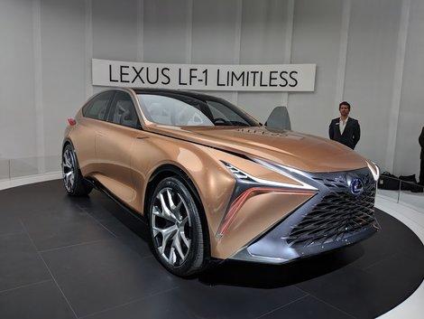 New Lexus LF-1 Limitless Turns Heads in Detroit