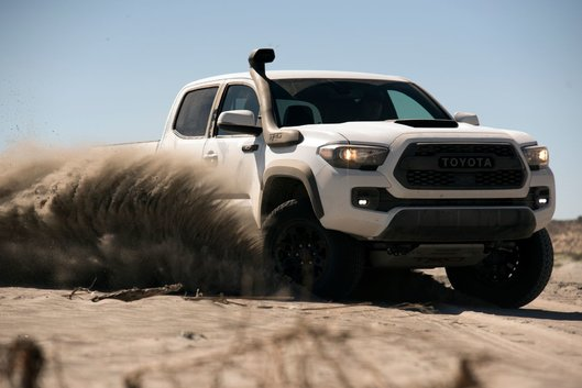 If adventure is calling you, you'll want to have a look at the Toyota TRD Pro range