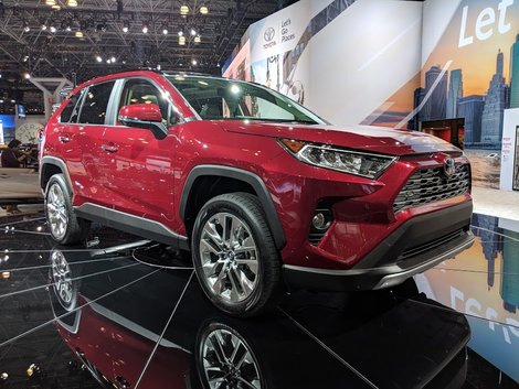 Toyota presents the new 2019 RAV4 in New York