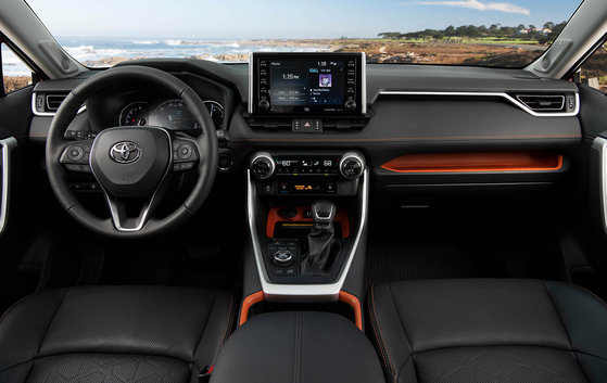 The 2019 Toyota RAV4 is on Wards' 2019 Best Interiors List