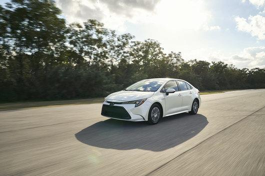 Toyota Corolla Hybride 2020 : conduisez bien loin avec très peu de carburant