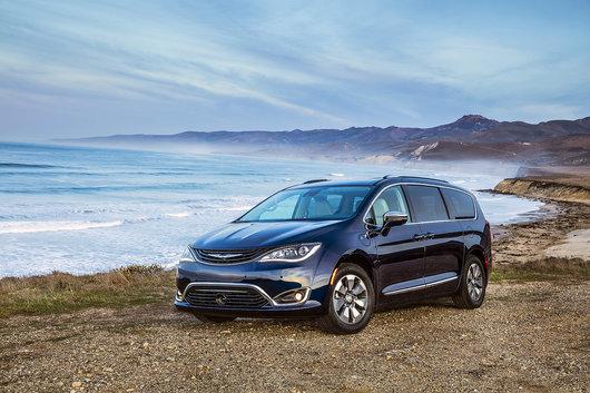 La Chrysler Pacifica Hybride Éligible au nouveau programme d'incitatifs iVEZ