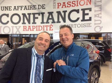 Client de Laval satisfait