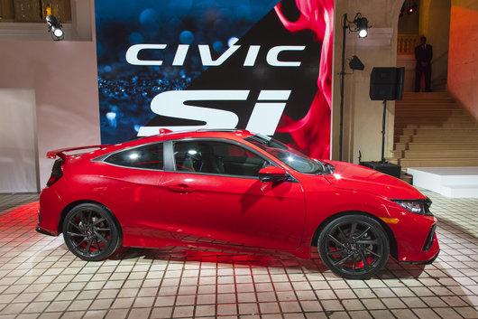 Voici la toute nouvelle Honda Civic Si