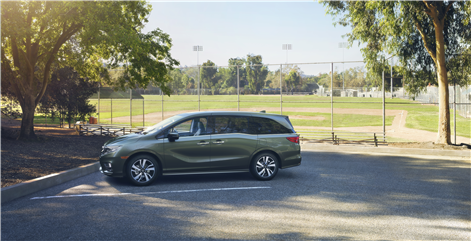 The 2018 Honda Odyssey Protects and Serves Big Families in Terrebonne, Quebec