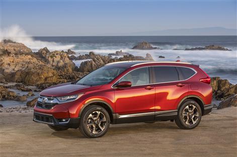 Un coup d'œil aux essais routiers du Honda CR-V 2018