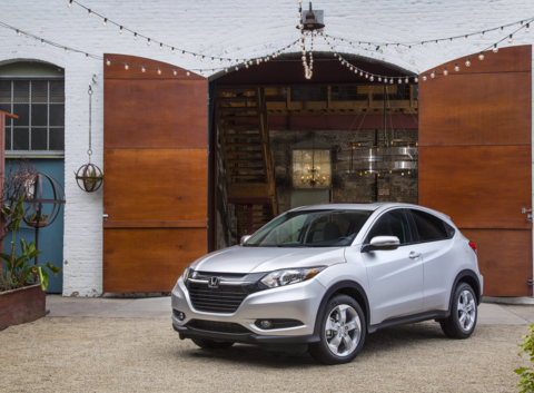 Check out the all-new 2016 Honda HR-V compact SUV