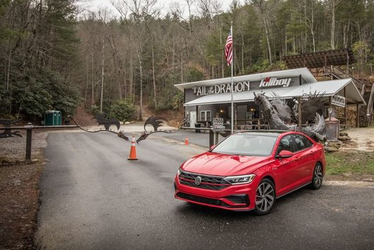 Riding the Tail of the Dragon in Volkswagen's smooth and spunky GLI