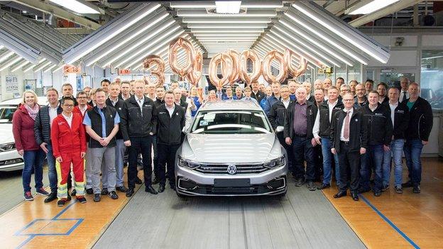Volkswagen Builds 30 Millionth Passat