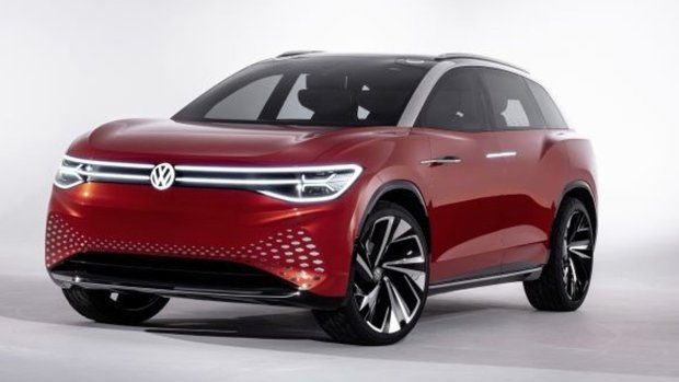 Volkswagen to Premiere 7-Seat Electric SUV Concept Car in Shanghai