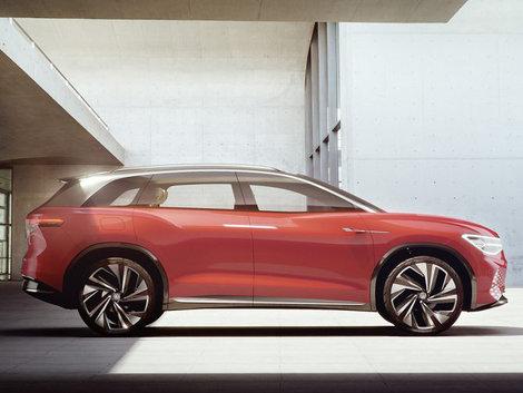 Volkswagen Unveils 300 HP I.D. ROOMZZ in Shanghai