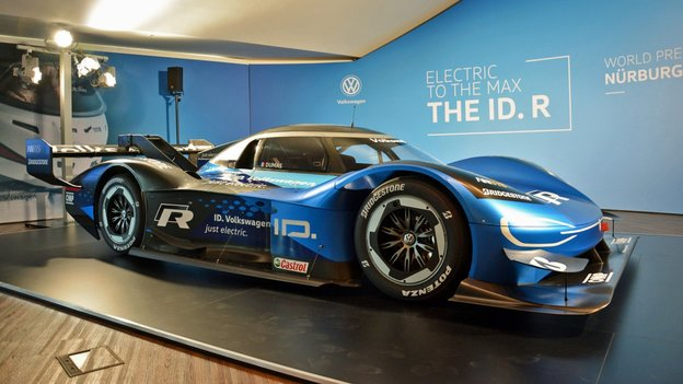 VW Seeks to Smash the Electric Vehicle Lap Speed Record on the Nürburgring