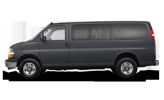 Chevrolet Express 3500 PASSENGER LS 2017