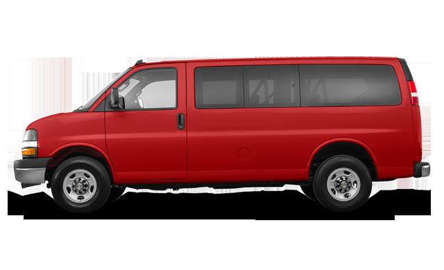 Chevrolet Express 3500 PASSENGER LT 2017