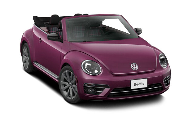 Volkswagen Beetle Convertible PINK 2017 - 2