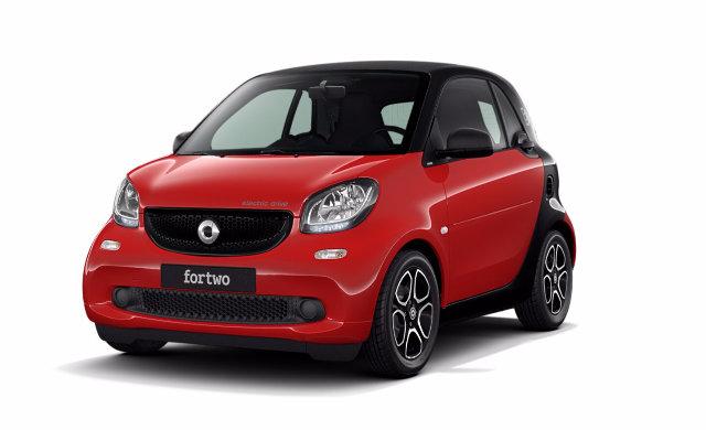 smart fortwo coupé - électrique passion 2018 - 2
