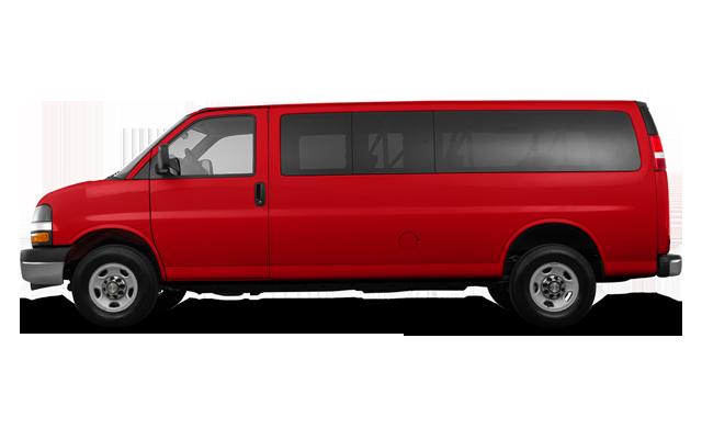 Chevrolet Express 2500 PASSENGER LT 2018
